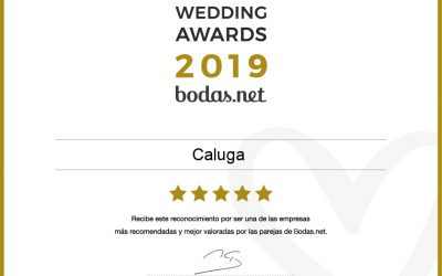 Caluga gana unpremio Wedding Awards 2019