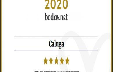 Bodas Caluga gana el premio Wedding Awards 2020